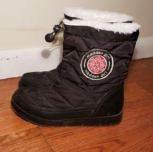 Madden  girl black winter  boots